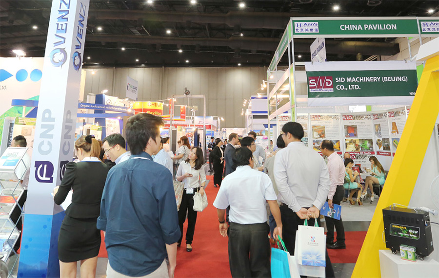 PUMPS & VALVES ASIA และ THAI WATER EXPO 2017