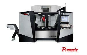 5-Axis Machining Center with Turning Function