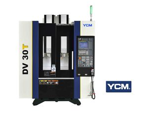 High Efficiency Dual Spindle Machining Center