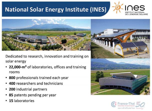 สถาบันพลังงานแสงอาทิตย์แห่งชาต INES