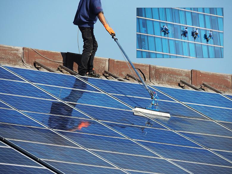 การแก้ปัญหาการทำความสะอาดเซลล์แสงอาทิตย์ด้วยวิธีพื้นฐาน