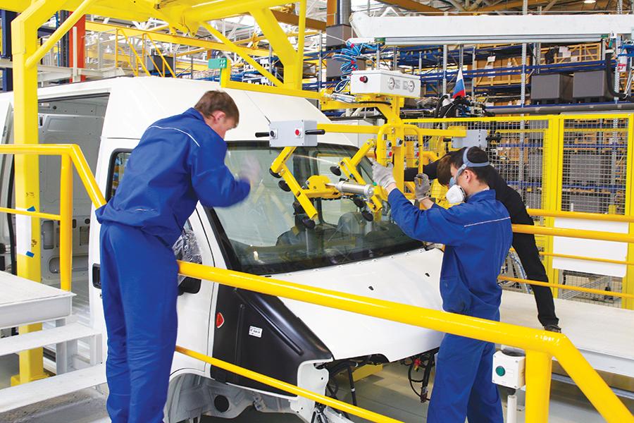 อุตสาหกรรมการผลิตรถยนต์