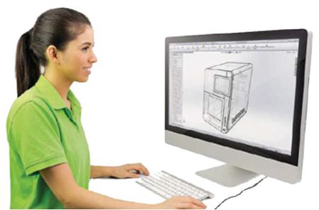 ภาพสเก็ตช์เสมือน : เครื่องมือกลสำหรับงานด้านทันตกรรม แสดงความโดดเด่นของการออกแบบที่เหมาะสมกับลักษณะงาน