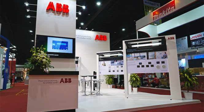 เอบีบีเชิญชมระบบควบคุมบ้านอัจฉริยะ ABB-free@home ในงานสถาปนิก'60
