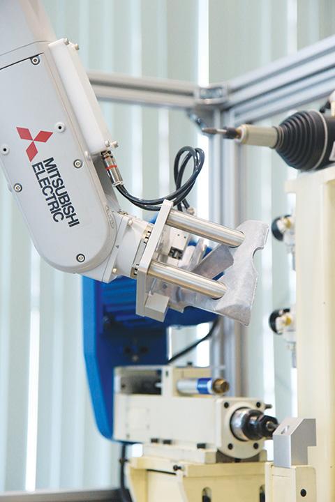 หุ่นยนต์อุตสาหกรรม ระบบ Automation
