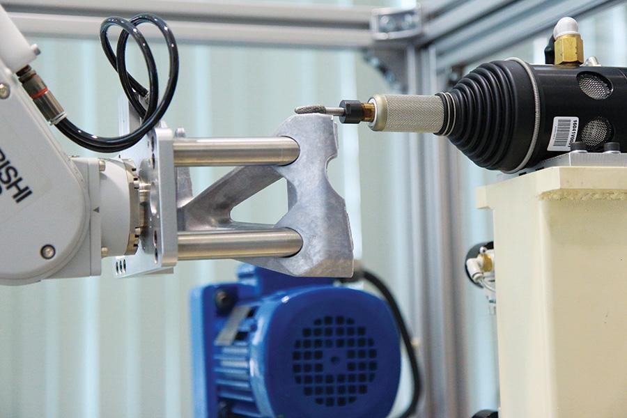 กระบวนการผลิต ด้วยหุ่นยนต์อุตสาหกรรม ระบบอัตโนมัติ