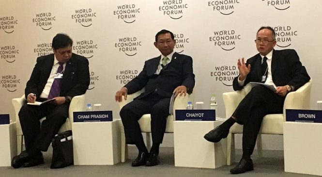 เอบีบี เข้าร่วมอภิปรายในงาน World Economic Forum on ASEAN 2017