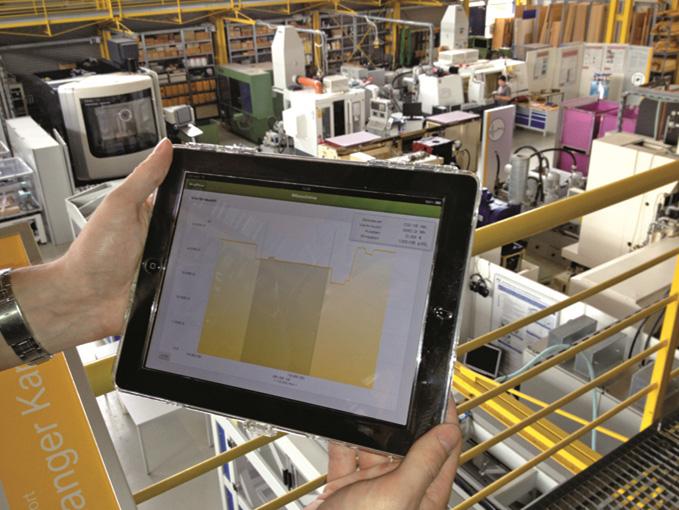 I-Pad สามารถช่วยแสดงกระแสพลังงานที่ใช้ในโรงงานอุตสาหกรรมทั้งหมด