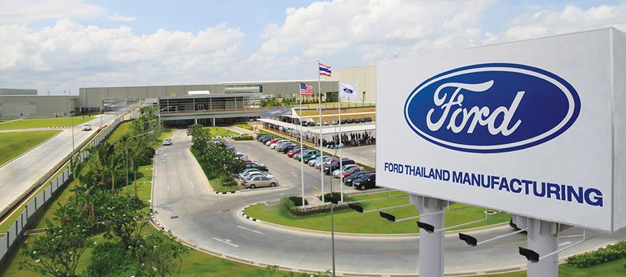เปิดสายการผลิตโรงงานสีเขียว FORD THAILAND MANUFACTURING