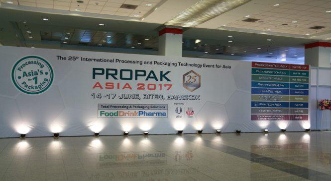 พาชม ProPak Asia 2017 มหกรรมกระบวนการผลิตและบรรจุภัณฑ์