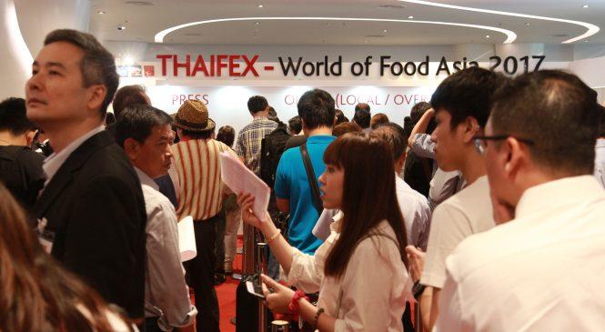 THAIFEX – World of Food Asia 2017 มหกรรมสินค้าอาหารที่ยิ่งใหญ่ที่สุดในภูมิภาค!