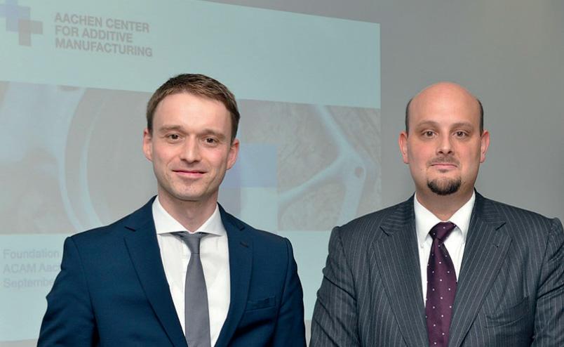 Dr Johannes Witzel และ Dr Kristian Arntz
