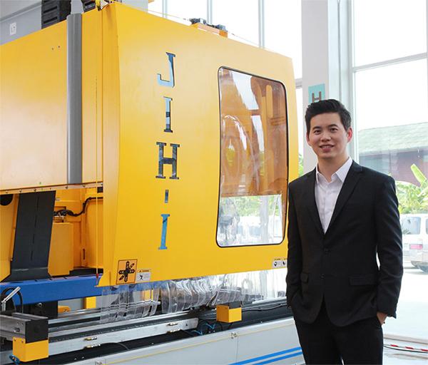 ไทยสากล เปิดตัวเครื่องจักร 'JIH-I' ไต้หวัน 'เร็วกว่า ดีกว่า และถูกกว่า'