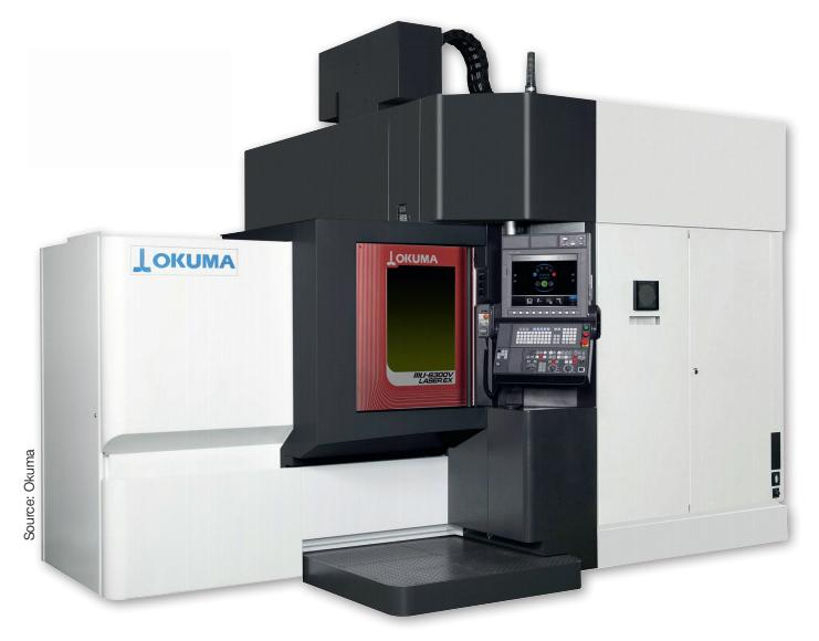 เครื่องกัดชิ้นงานอเนกประสงค์ Okuma MU-6300V Laser EX