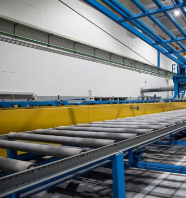 แผ่นฉนวนกันความร้อน สำหรับโรงงานผลิตอาหารและเครื่องดึ่ม