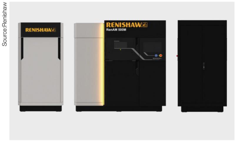 Renishaw Ren-AM 500M ประสานการทำงานทั้งซอฟต์แวร์และฮาร์ดแวร์กับผู้ผลิตรายอื่นได้อย่างง่ายดาย