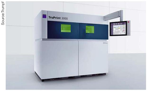 Tru-Print 3000 และ Tru-Print 5000 เครื่องจักรขนาดกลางสำหรับการผลิต LMF ปริมาณมาก