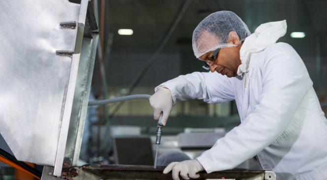 การทำความสะอาดและฆ่าเชื้อ ในกระบวนการผลิตอาหาร