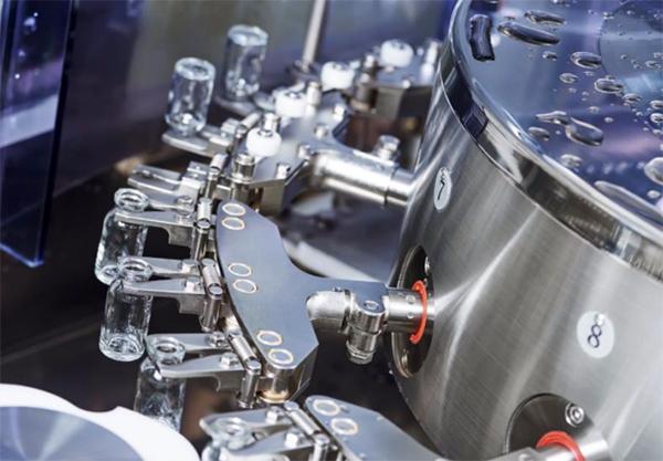 เครื่องจักรในสายการผลิตอัตโนมัติ