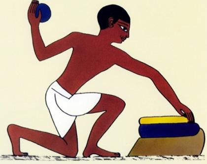 สเกตภาพจากที่เก็บศพเจ้าหน้าที่อียิปต์ 1,450 ปี ก่อนคริสตกาล
