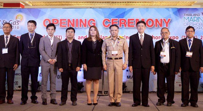 นับถอยหลังงาน Oil & Gas Thailand (OGET) 2017
