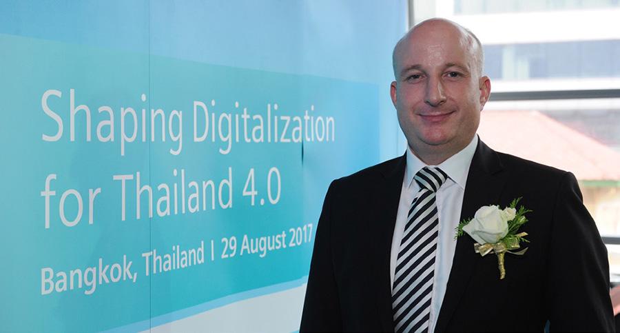 มาร์คุส ลอเรนซินี่ ประธานและหัวหน้าฝ่ายบริหาร บริษัทซีเมนส์ จำกัด ประเทศไทย