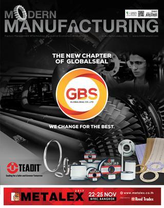 นิตยสาร Modern Manufacturing Vol.15 ฉบับเดือน October 2017