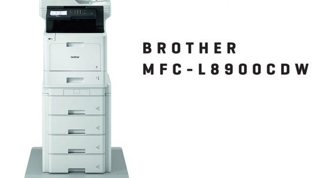 บราเดอร์ ส่งเครืองพิมพ์ มัลติฟังก์ชั่น MFC-L8900CDW รุกตลาดด้วยเทคโนโลยี Internet of Things