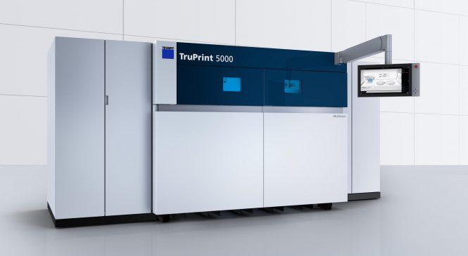 TruPrint 5000 เครื่องพิมพ์ 3 มิติ ที่ไวที่สุดในโลกนาทีนี้