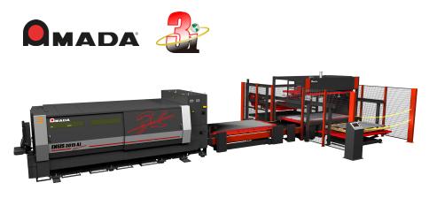 AMADA'S ENSIS3015AJ + MPL3015SG