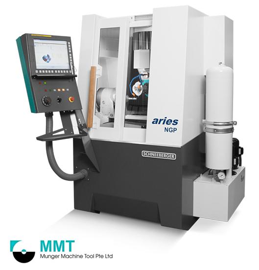 SCHNEEBERGER'S CNC Universal 5 Axes Tool & Cutter Grinder