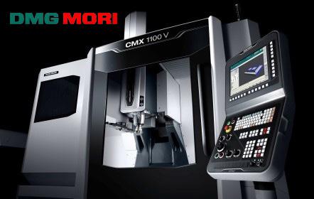 DMG MORI'S CMX 1100 V