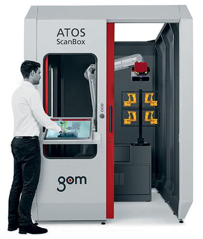 เครื่อง GOM Atos Scan Box