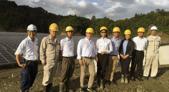 GUNKUL ต้อนรับสมาคมผู้สื่อข่าวเศรษฐกิจเข้าเยี่ยมชมโครงการโรงไฟฟ้าพลังงานแสงอาทิตย์คิมิตสึ