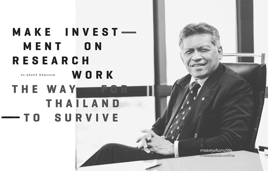 การลงทุนกับงานวิจัย… ทางรอดของประเทศไทย