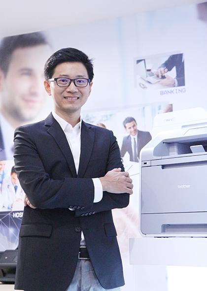 คุณพงษ์พันธ์ สุระวัฒน์เจริญ Senior Marketing Manager บริษัท บราเดอร์ คอมเมอร์เชี่ยล (ประเทศไทย) จำกัด