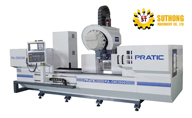 PRATIC'S Vertical Machining Center
