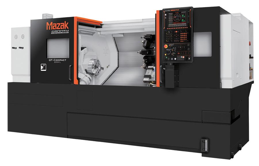 QT-COMPACT Series โมเดลเบื้องต้นของเครื่องกลึง CNC แบบ Multi-Tasking