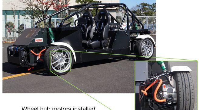 Wheel Hub Motor ต่อยอดเทคโนโลยี EV