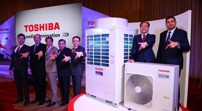 โตชิบาส่งเครื่องปรับอากาศ VRF Generation ตีตลาด ชูฐานการผลิตในไทย ส่งออกขายทั่วโลก