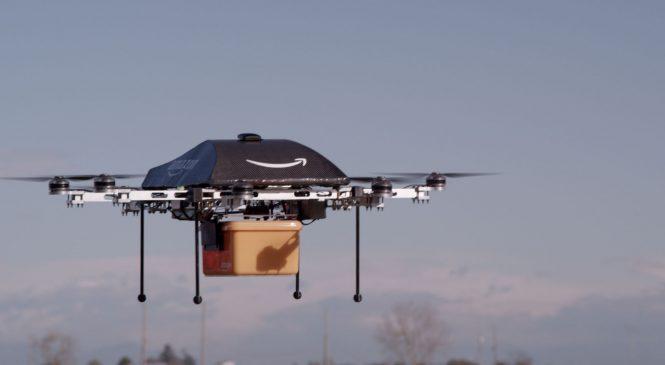 Amazon กับสิทธิบัตร Drone สำหรับเติมพลังงาน
