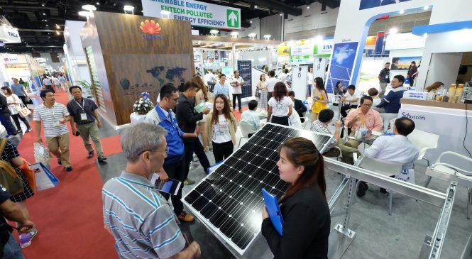 """ASE 2018 ชูคอนเซ็ปต์ """"ข้ามขีดจำกัดสู่พลังงานทางเลือกอนาคต"""""""