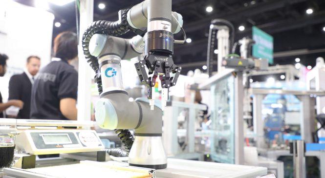 ส่อง 'หุ่นยนต์' ประชันกันในงาน INTERMACH 2018