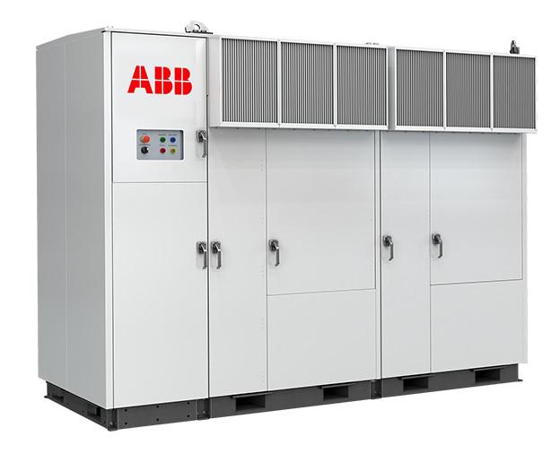 อุปกรณ์ Inverter สำหรับระบบโซล่าร์เซลล์ ABB Central Inverter PVS980