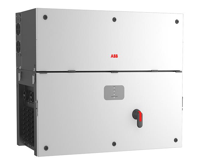 อุปกรณ์ Inverter สำหรับระบบโซล่าร์เซลล์ แบบเชื่อมต่อคลาวด์ ABB String Inverter PVS100-TL