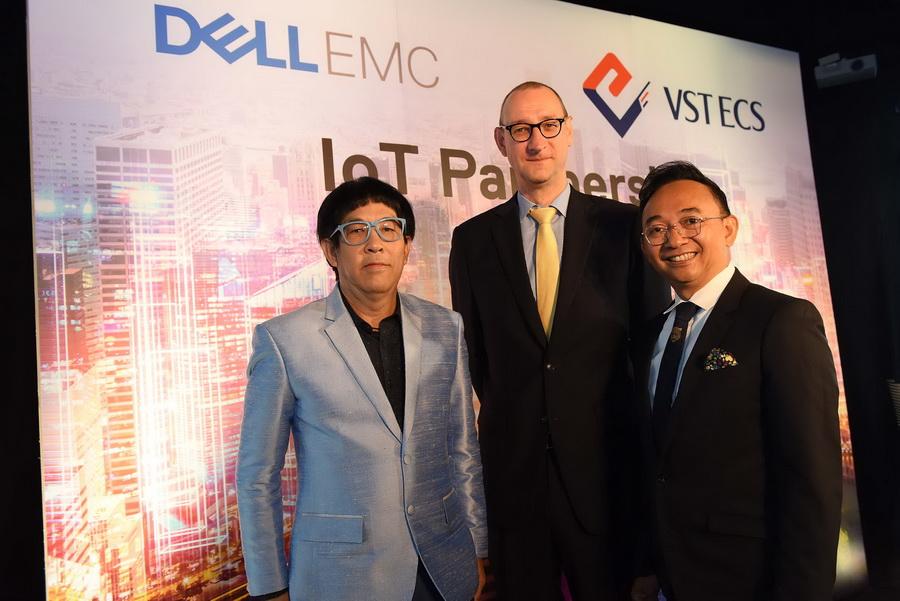Dell EMC จับมือ VST ECS ขยายธุรกิจ IoT