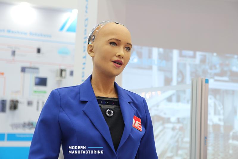 หุ่นยนต์โซเฟีย AI อัจฉริยะ
