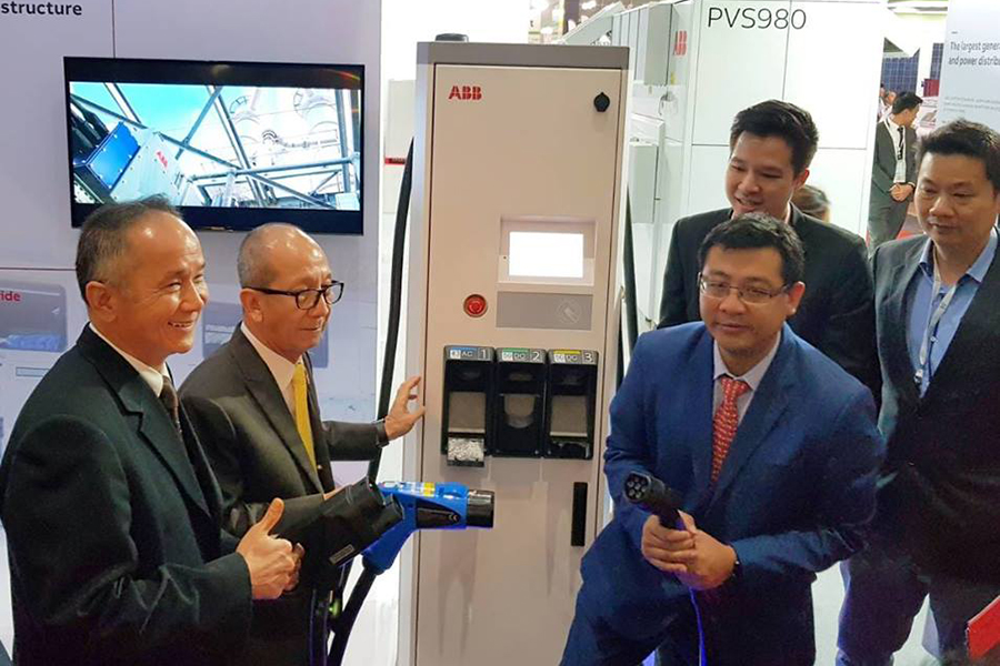 บริษัท เอบีบี จำกัด โชว์นวัตกรรมและเทคโนโลยีประหยัดพลังงาน ในงาน ASEAN Sustainable Energy Week 2018