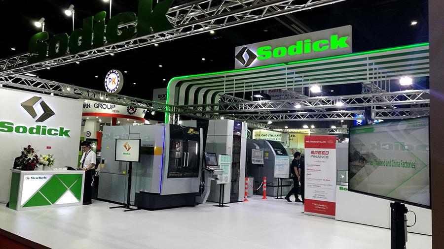 บริษัท Sodick (Thailand) Co.,Ltd ในงาน ME 2018