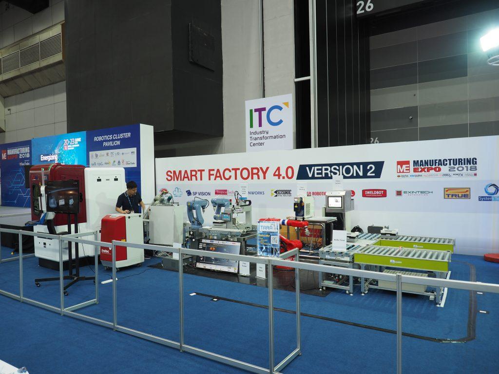 TARA ในงาน Manufacturing Expo 2018